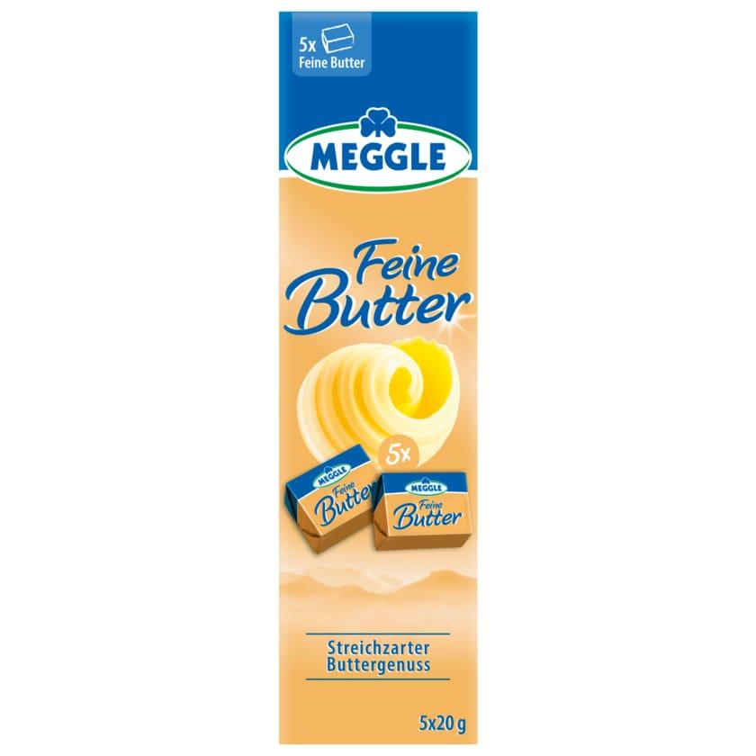 Meggle Feine Butter 6x16,6g, 100g