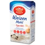 Goldpuder Weizenmehl Typ 405 2,5kg