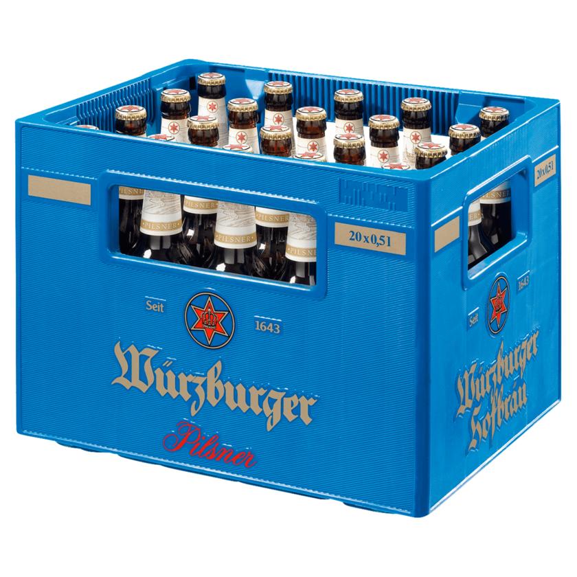 Würzburger Pils 20x0,5l