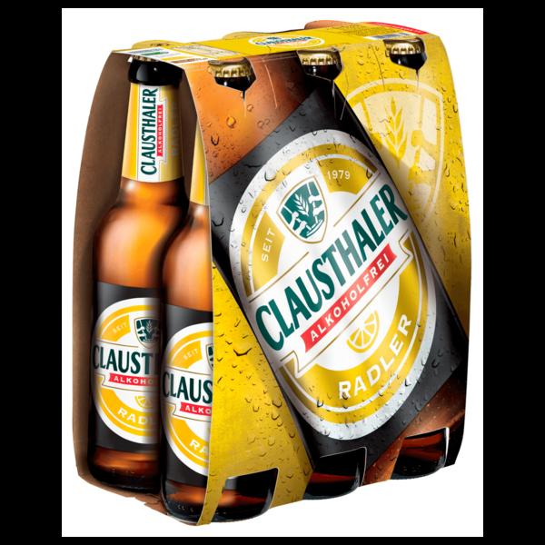 Clausthaler Radler alkoholfrei 6x0,33l