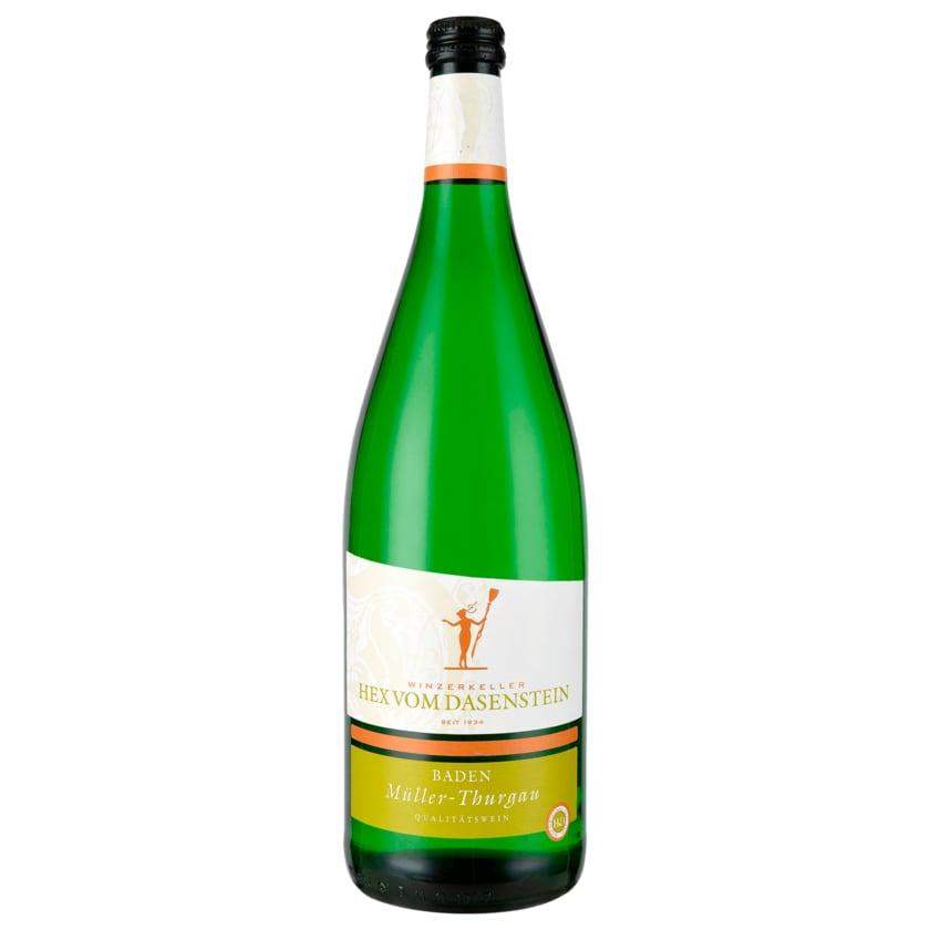 Hex vom Dasenstein Weißwein Müller-Thurgau QbA halbtrocken 1l