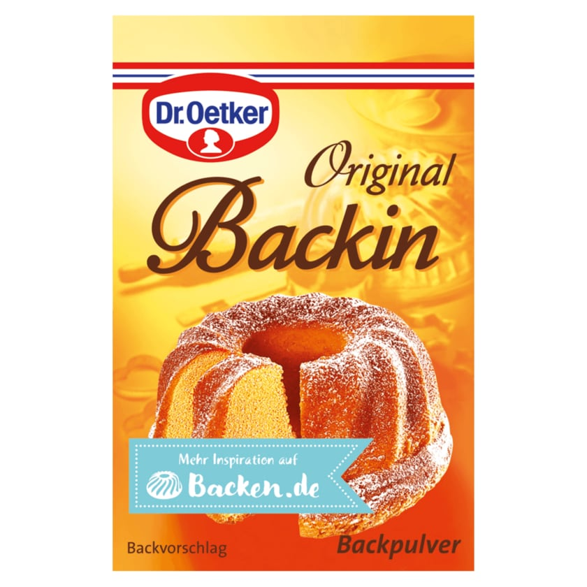 Dr. Oetker Original Backin 160g, 10 Beutel