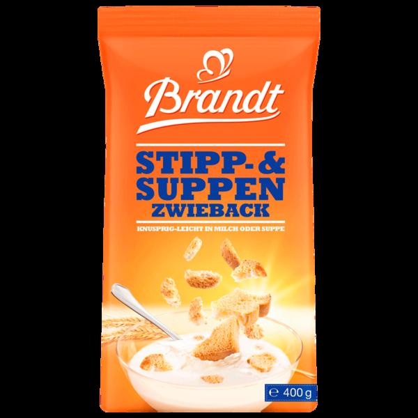 Brandt Stipp- & Suppenzwieback 400g