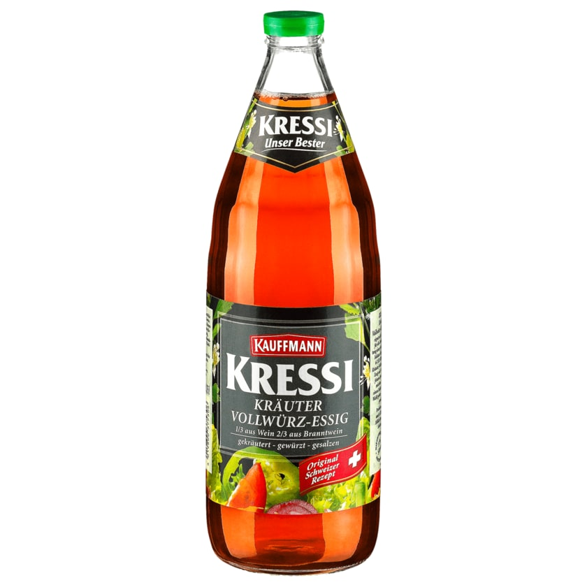 Kauffmann Kressi Vollwürzessig 5% 0,75l
