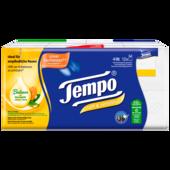 Tempo Taschentücher sanft&sensitiv mit Aloe Vera und Kamille, 4-lagig, 12x9 Tücher