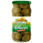 Kattus Große Oliven mit Paprikapaste 200g