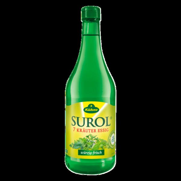 Kühne Surol 7-Kräuter-Essig 0,75l