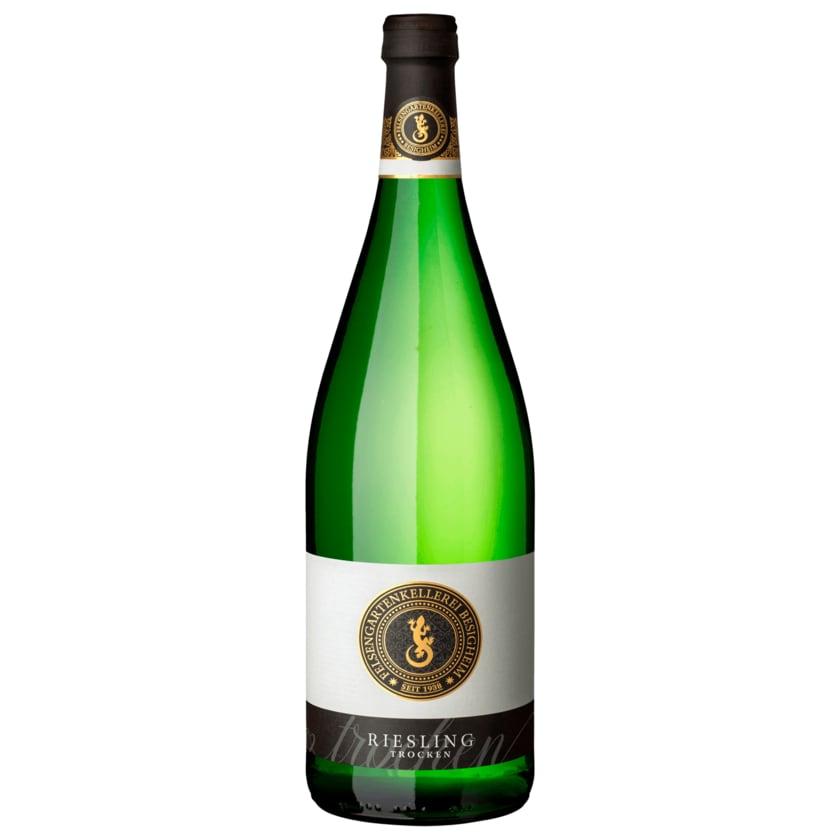 Besigheimer Felsengarten Weißwein Riesling QbA trocken 1l