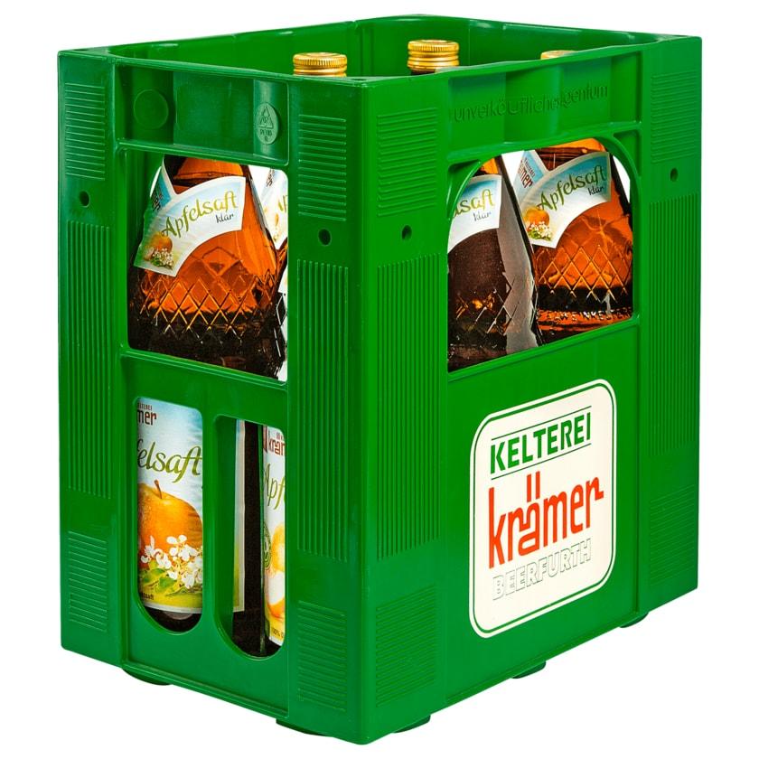 Kelterei Krämer Apfelsaft Klar 6x1l