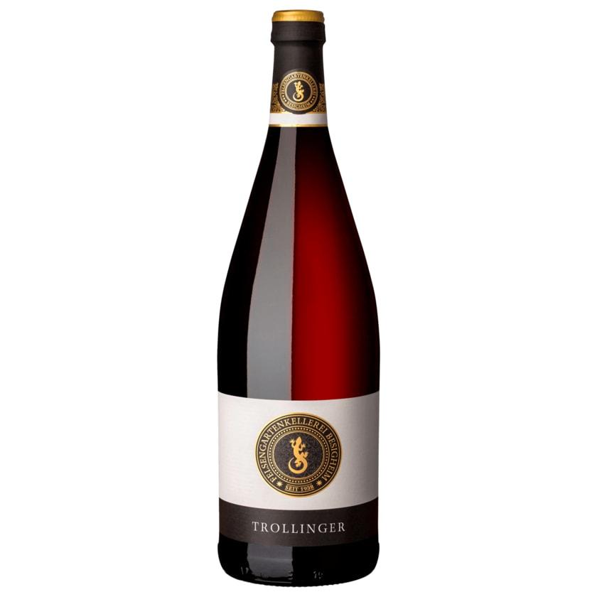 Besigheimer Rotwein Trollinger QbA halbtrocken 1l