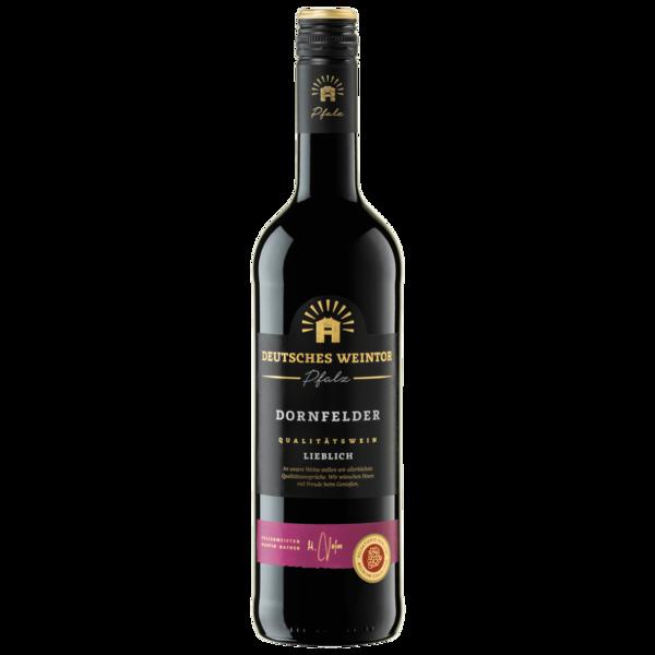 Deutsches Weintor Rotwein Dornfelder QbA lieblich 0,75l