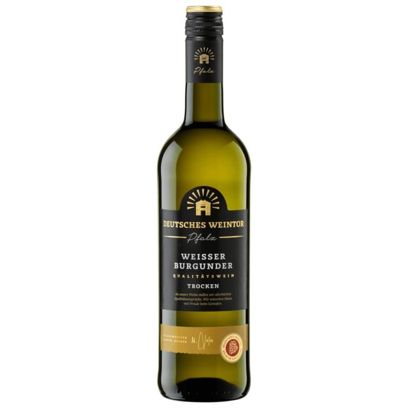 Deutsches Weintor Weißwein Weißburgunder trocken 0,75l