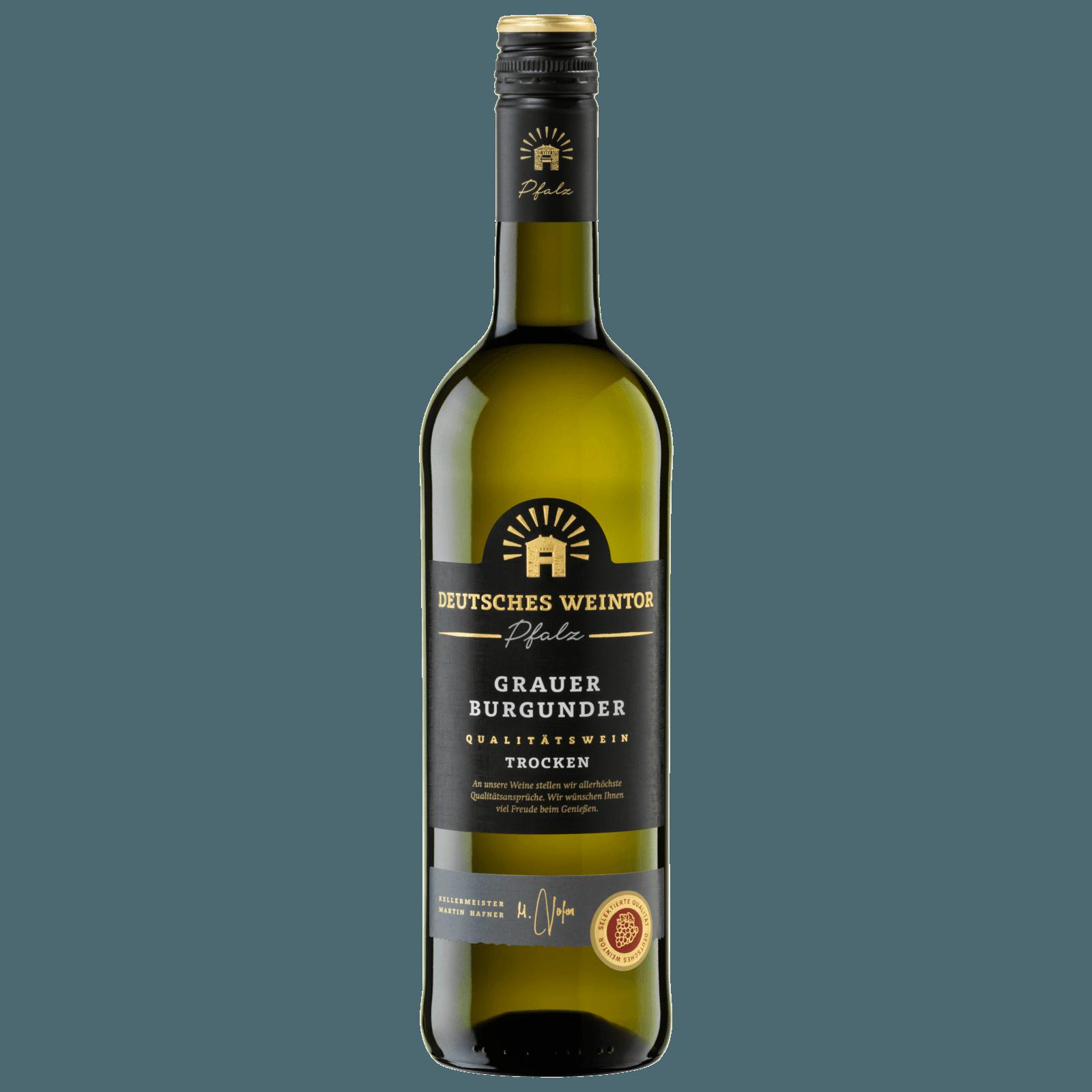 Deutsches Weintor Weißwein Grauer Burgunder trocken 0,75l