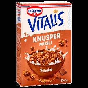 Dr. Oetker Vitalis Knuspermüsli Schoko Vorratspack 1,5kg