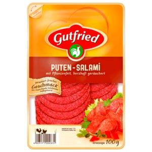 Gutfried Puten-Salami mit Pflanzenfett 100g