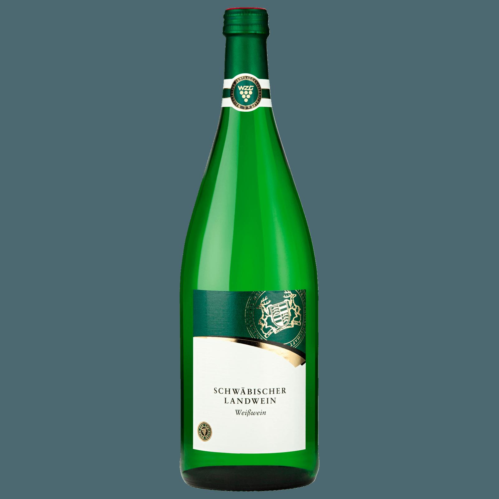 Württemberg Weißwein Schwäbischer Landwein halbtrocken 1l