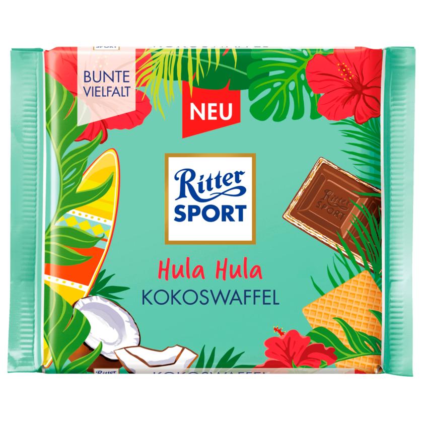 Ritter Sport Schokolade Kokoswaffel 100g