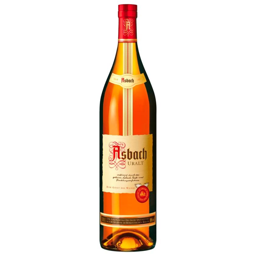 Asbach Uralt Weinbrand 38% Vol. 1l