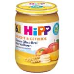 Hipp Bio Frucht & Getreide Feiner Obstbrei 190g