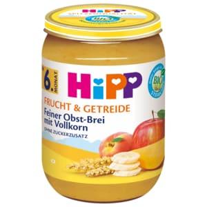 Hipp Frucht & Getreide Feiner Obstbrei 190g
