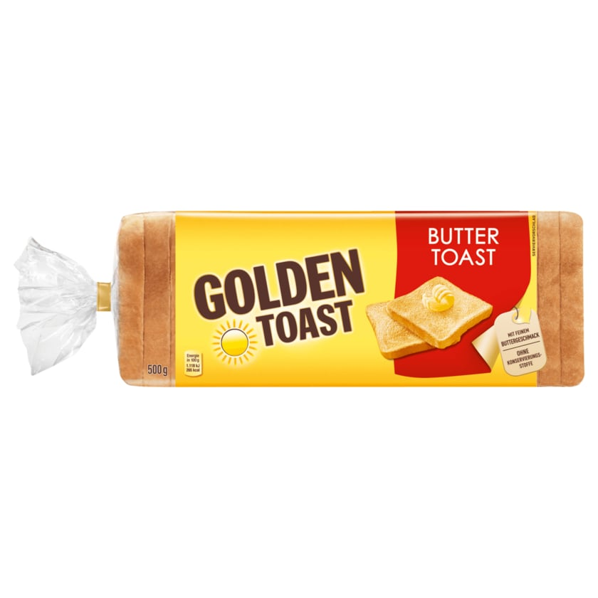 Golden Toast Buttertoast 500g