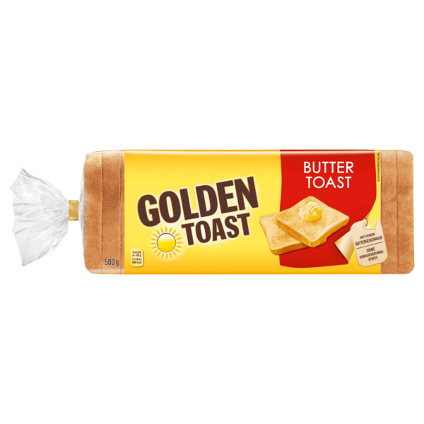 Golden Toast Buttertoast 500g