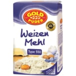Goldpuder Weizenmehl Typ 550 1kg