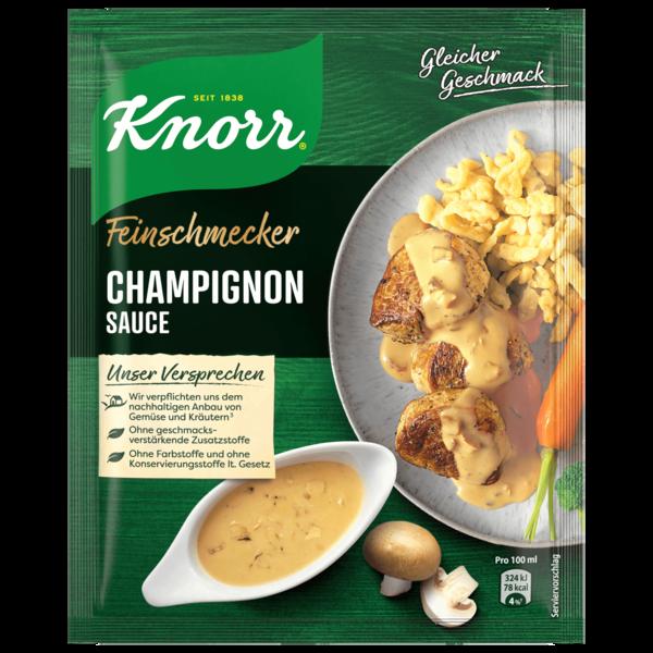 Knorr Feinschmecker Champignon Rahm Soße 250 ml