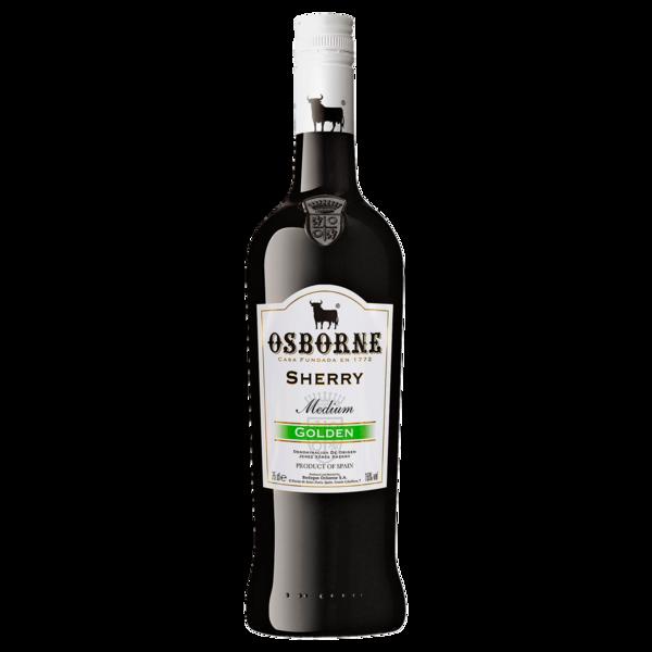 Osborne Sherry Medium Likörwein Golden 0,75l