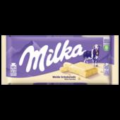Milka Tafel Weiße Schokolade 100g