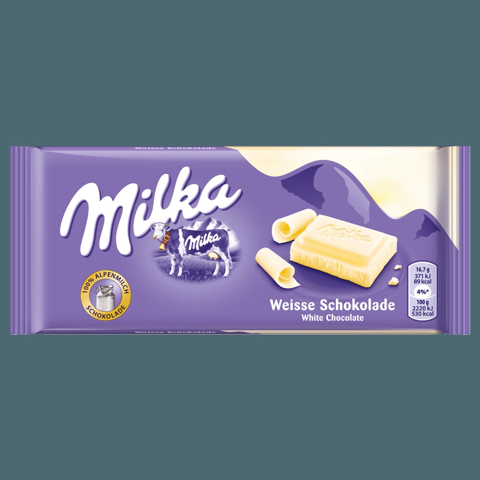 MILKA SCHOKO TAFEL WEISS