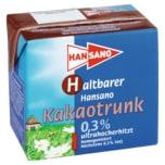 Hansano Haltbare Kakaomilch 0,5l