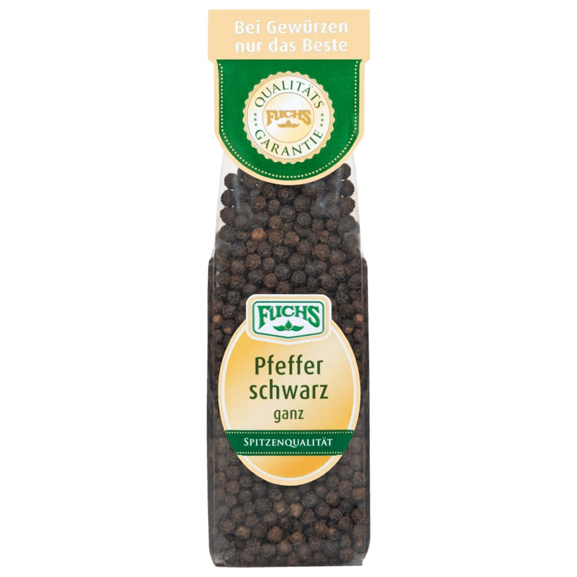 Fuchs Pfeffer schwarz 70g