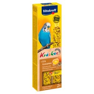 Vitakraft Kräcker Ei-Grassamen Sittich 2 Stück