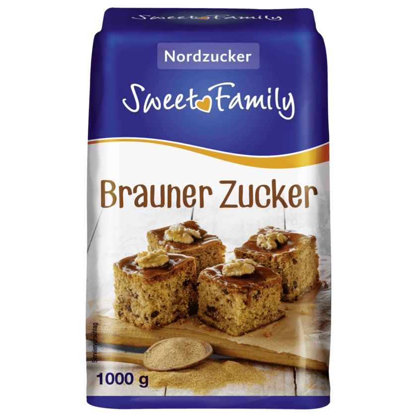 Sweet Family Brauner Zucker 1kg