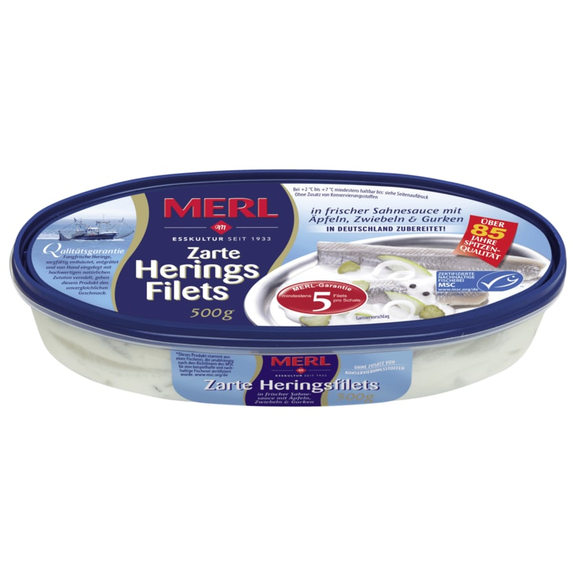 Merl Heringsfilets in Sahnesauce 500g