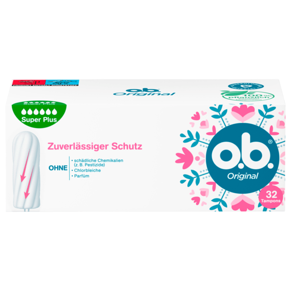o.b. Tampons Original Super Plus 32 Stück