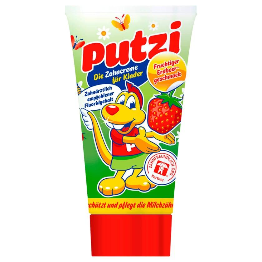 Putzi Kinder-Zahncreme Erdbeer 50ml