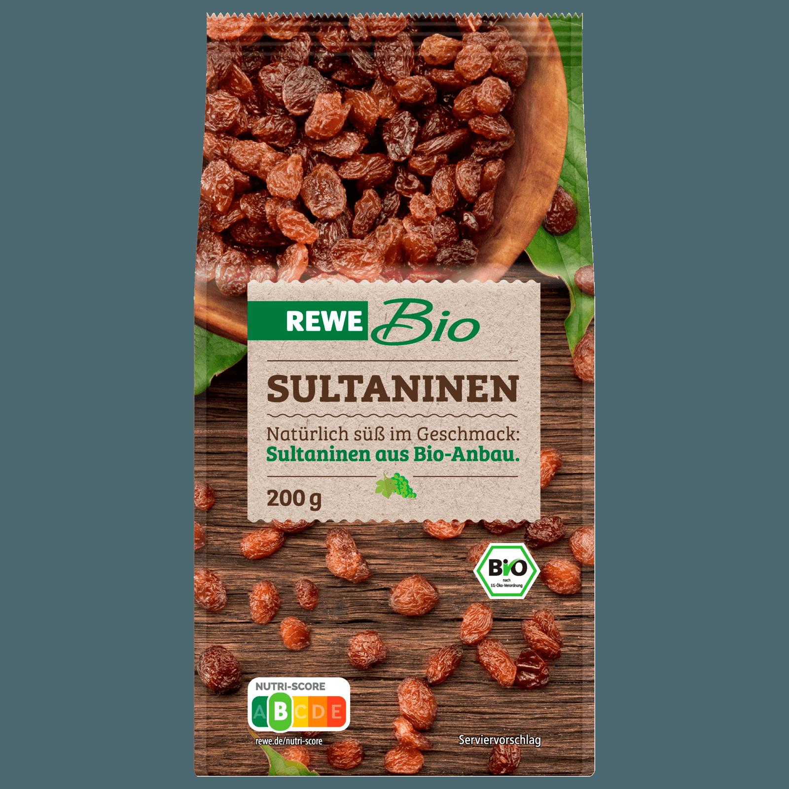 Rewe Bio Sultaninen 200g Bei Rewe Online Bestellen