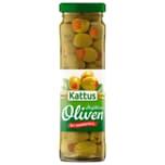 Kattus große Oliven mit Paprikapaste 85g