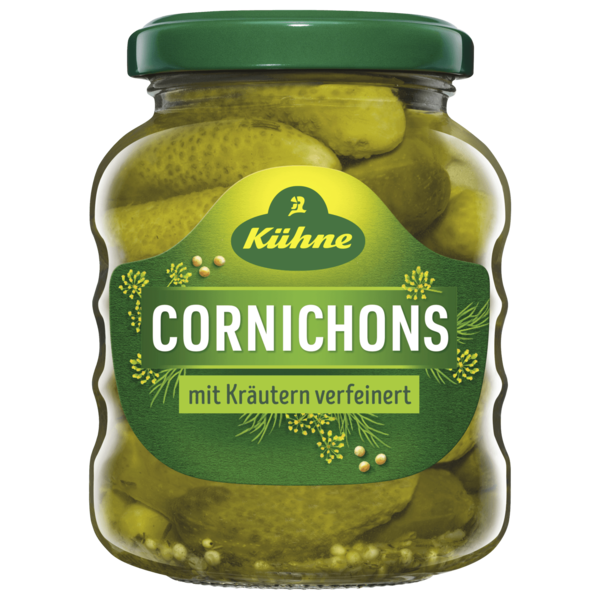 Kühne Cocktail-Cornichons 110g
