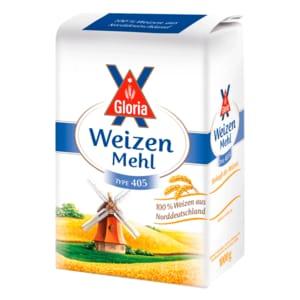 Gloria Weizenmehl Type 405 1kg