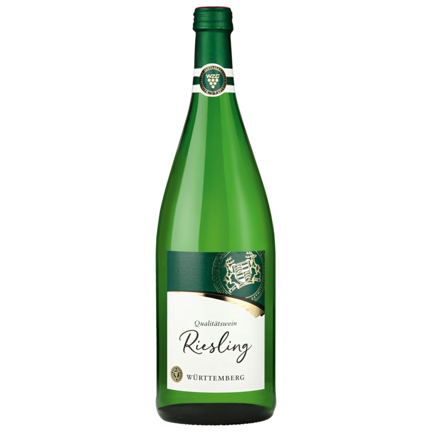 Württemberger Weißwein Riesling halbtrocken 1l
