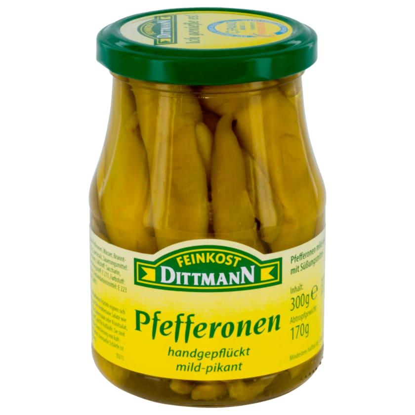 Feinkost Dittmann Pfefferonen mild-pikant 170g