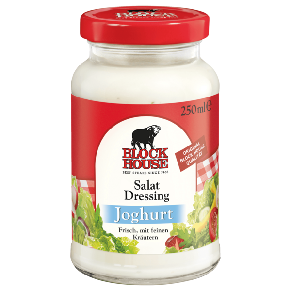 Block House Salat-Dressing Joghurt 250ml