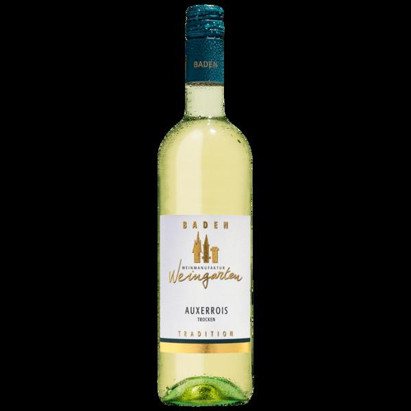 Weingarten Weißwein Auxerrois trocken 0,75l