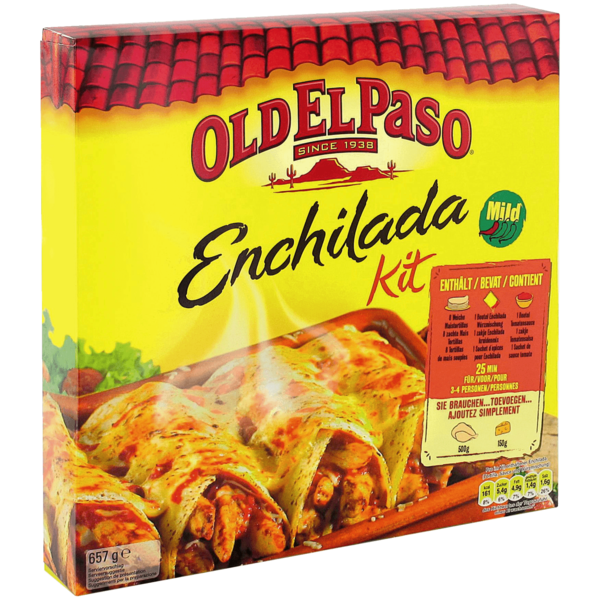 old el paso enchilada kit instructions