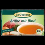 BioGourmet Brühe mit Rind 8 Stück