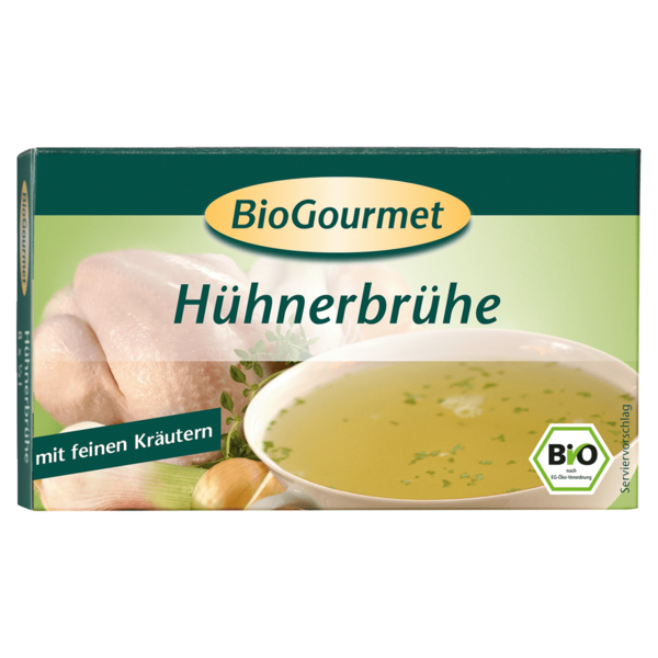 BioGourmet Hühnerbrühe-Würfel 8 Stück