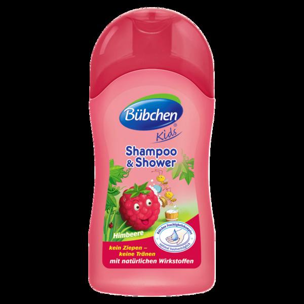 Bübchen Kids Shampoo & Duschgel Himbeere 50ml